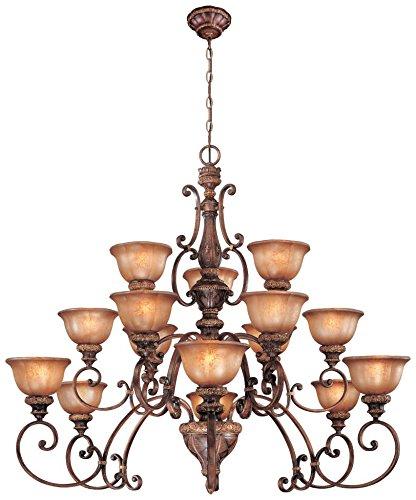 Minka Lavery 1359-177 15 Light Chandelier, Illuminati Bronze Finish - 177 Illuminati Bronze Finish