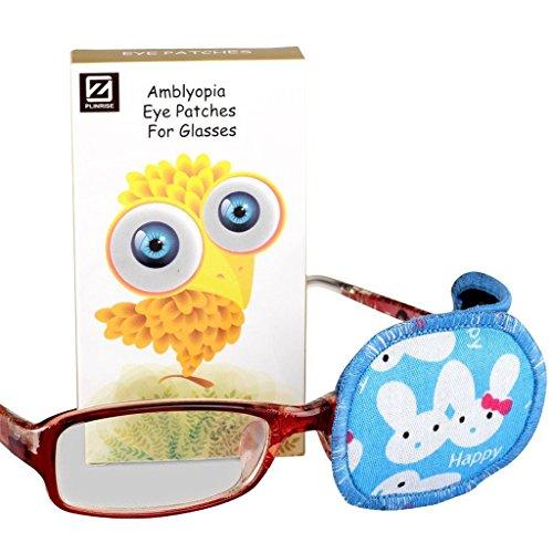 Plinrise 1 PCS Pure Cotton Cartoon Amblyopia Eye Patch For Left Eye,Treat Lazy Eye,Amblyopia And Strabismus,Eye Patch For Children