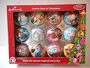 12 days of christmas ornaments to make
