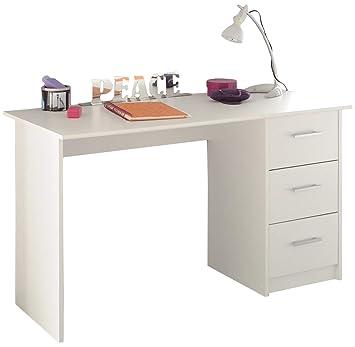 Schreibtisch Infinity Parisot weiß B 121 cm Jugendzimmer ...