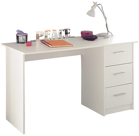 Schreibtisch Infinity Parisot weiß B 121 cm Jugendzimmer Kinderzimmer  Bürotisch PC Computertisch Kinderschreibtisch Jugendschreibtisch