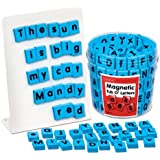 Tub of Magnetic Letters