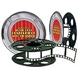 Beistle 50091 Movie Reel with Filmstrip Centerpiece, 9-Inch