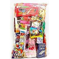 "Assorted Japanese Junk Food Snack ""Dagashi"" Economical 34 Packs of 27 Types"