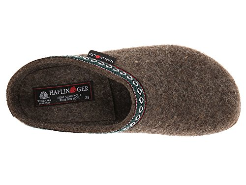 Haflinger Unisex GZ Classic Grizzly Earth Clog/Mule by Haflinger