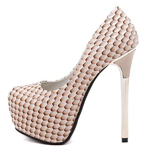 Di Colore Piattaforme Del Moda Sera Womens Tacco Diamante Scarpe Stiletto Alto Mnii Decolleté Partito Scarpe qwwzPOXn
