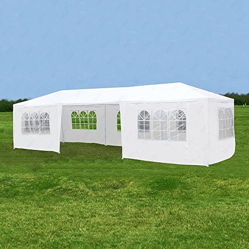 Enclosed Canopy (IPyramid Canopy Party Wedding Tent Heavy Duty Gazebo Pavilion Cater Outdoor Event)