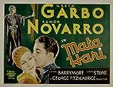 Mata Hari, Greta Garbo, Ramon Navarro, 1931 - Premium Movie Poster Reprint 36
