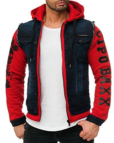 amp; Baxx Uomo Blu Cipo Rot Giacca gAU1w