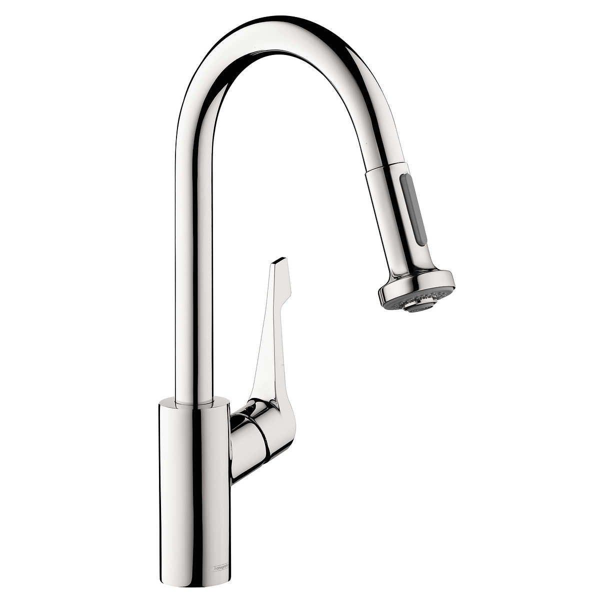Hansgrohe cento classic kitchen faucet steel optik amazon com