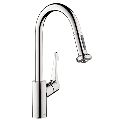 Hansgrohe Cento Classic Kitchen Faucet Steel Optik Amazoncom - Hansgrohe cento kitchen faucet