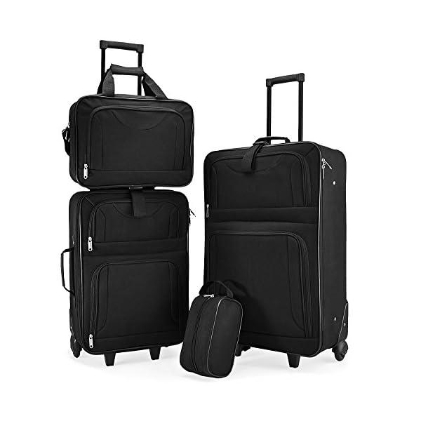 Set di Valigie Trolley da Viaggio Serie di 4 valigie – TravelKit 29b8aa53fe0
