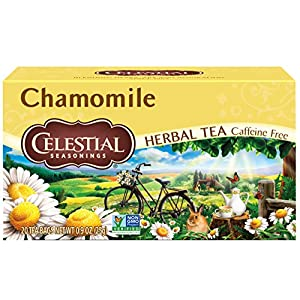 Well-Being-Matters 517gK4XSNGL._SS300_ Celestial Seasonings Herbal Tea, Chamomile, 20 Count