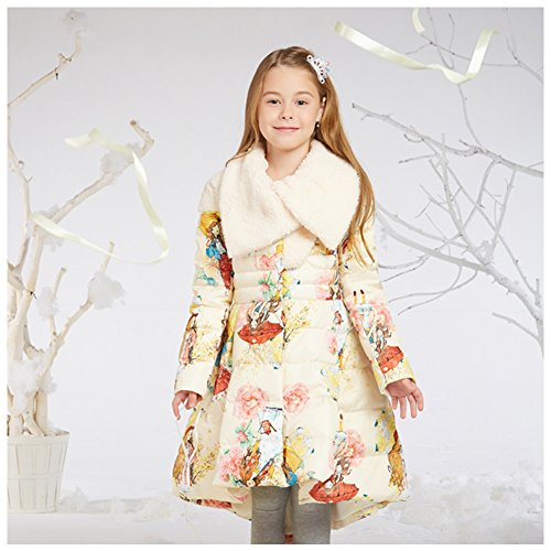 Amazon.com: FREE FISHER Girls Dress Coat Quilted Parka Coat Long Padded Bubble Puffer Jacket Winter Outwear: Clothing
