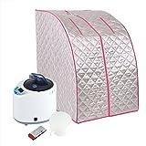 FTVOGUE 110V 2L Sauna Spa Machine, Portable Home Spa Steam Indoor Personal Sauna Tent Loss Weight Slimming Skin Spa Machine US Plug