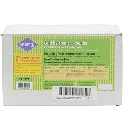 Instant Pastry Cream - Cold Belcreme Powder - 1 bag - 11 lb