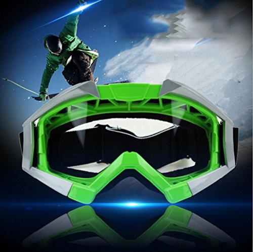 Polvo la PC Impermeable de a Gafas de Carretera montaña de Red Prueba a esquí de Parabrisas Fuera y Material explosiones de Prueba xxwHq7Bf