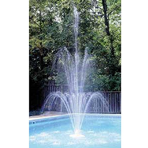 (Easy to Attach Grecian Triple Tier Floating Swimming Pool Fountain Add Spark to Your Pool)
