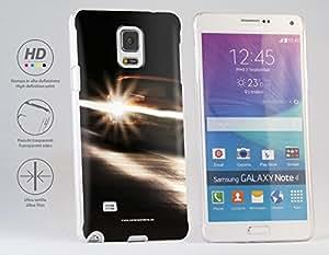 Funda Carcasa dura para Samsung Galaxy Note 4 - Coches en la noche