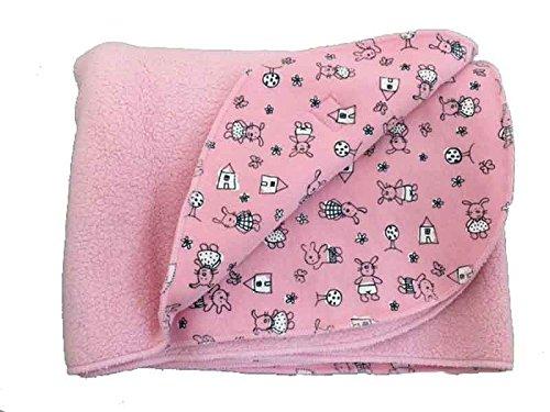 Zutano Gingham Blanket (Pink) (Cotton Blankets Zutano)