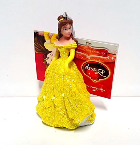 Hallmark Disney Princess Belle (Beauty and the beast) Christmas Tree Ornament 2015