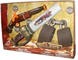 : Pirates of the Caribbean At World's End 3 Piece Pirate Set with Flintlock, Retractable Sword and Shackles