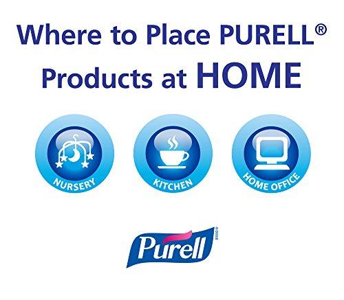 Purell 9674 06 ECDECO Advanced Design Series Hand Sanitizer 8 Oz Bottles