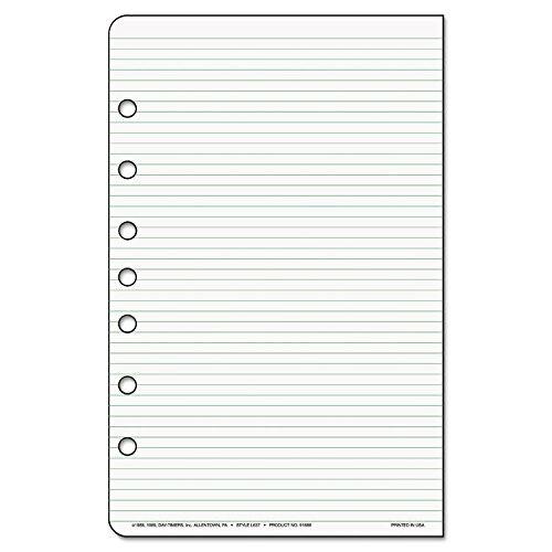 Day-Timer - Lined Note Pads for Organizer, 5-1/2 x 8-1/2, 48 Sheets/Pack 87228 (DMi - Lined Day Timer Notes