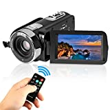 GordVE KG004 2.7'' LCD Screen Digital Video Camcorder Night Vision 24MP Camera HD Digital Camera