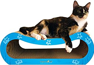 product image for Imperial Cat Vogue Scratch 'n Shape, Modern Turqoise