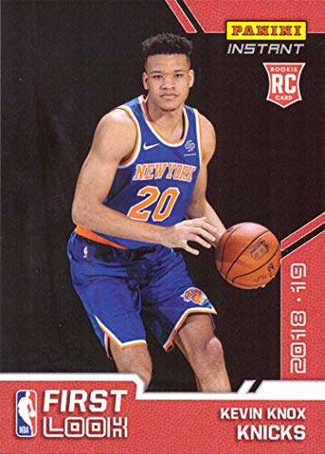 2018-19 Panini Instant Basketball #FI-9 Kevin Knox Rookie Card New York Knicks - 1st Official Rookie Card - Only 350 made!