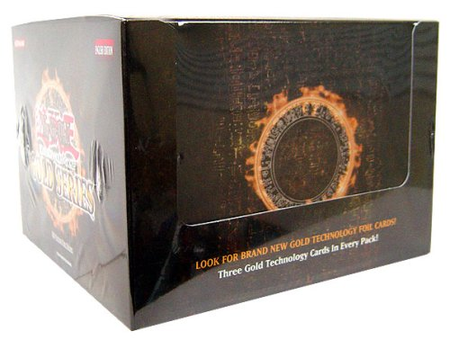 YuGiOh Gold Series Exclusive Limited Edition Booster Box [5 Packs]