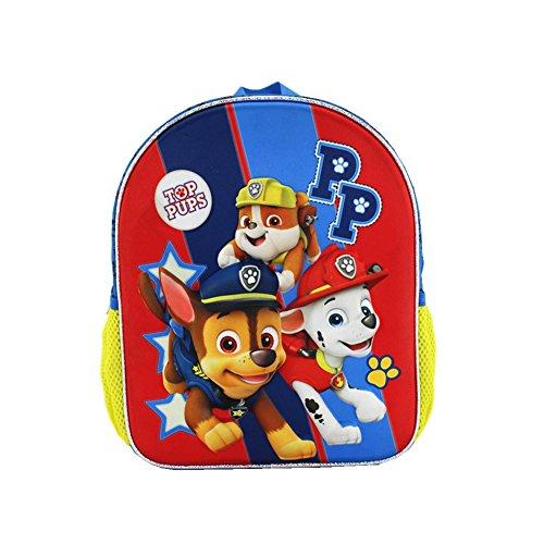 YOURNELO Boys Girls Cute 3D Paw Patrol Waterproof Backpack P