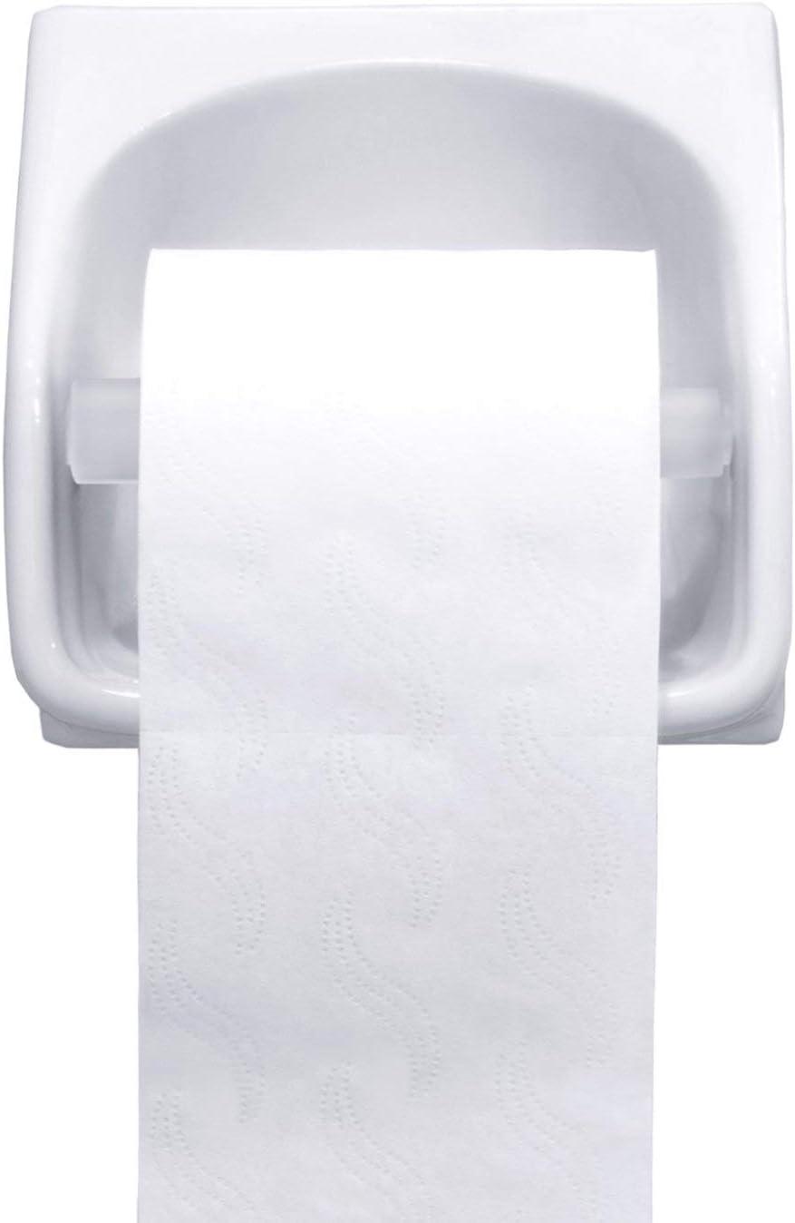 Portarotolo di carta igienica in plastica 2 pezzi ristorante per uso domestico