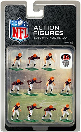 Cincinnati BengalsHome Jersey NFL Action Figure Set (Cincinnati Bengals Set)