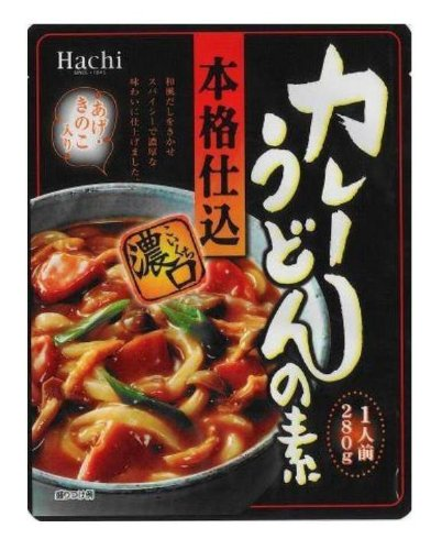 280gX20 pieces of bee authentic charged curry udon elementary Koikuchi by Bee food