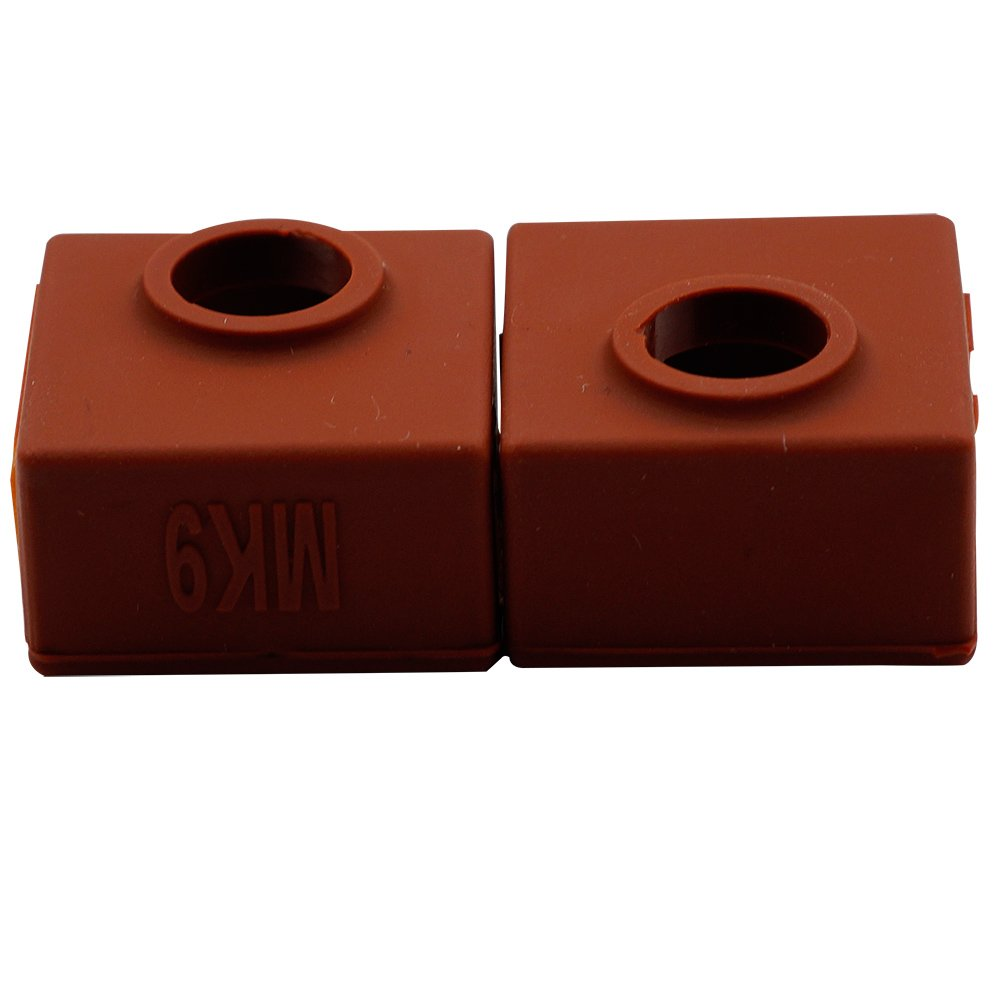 Anet A8 CC-MK9-Cover CCTREE 3D Printer Heater Block Silicone Cover MK7//MK8//MK9 Hotend for Creality CR-10,10S,S4,S5,Ender 3