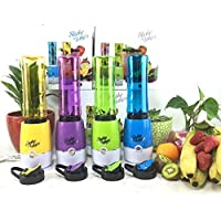 LORD'S Mini Juicer Shake and Take Fruit Mixer Multi Function Extractor Blender Household Travel Cup (Multicolour -As Per Availability)