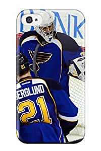 First-class Case Cover For Iphone 4/4s Dual Protection Cover St-louis-blues Hockey Nhl Louis Blues (66)