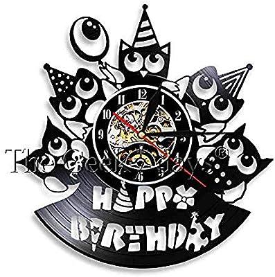 Amazing Muscular Men With Birthday Cakes Wall Clock Custom Happy Birthday Personalised Birthday Cards Petedlily Jamesorg