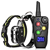 Ankace Shock Collar for Dogs with Remote Dog Training Collar Rechargeable No Bark Collar with Shock Modes Remote Collar Waterproof Shock Collar for Small Medium large dog