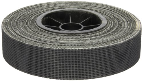 Norton Q421 Screen-Bak Durite Abrasive Roll, Cloth Backing, Silicon Carbide, Waterproof, 1-1/2'' Width x 25yd Length, Grit P180 (Pack of 10) by Norton Abrasives - St. Gobain
