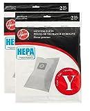 Hoover Type Y HEPA Bag (4-Pack), AH10040