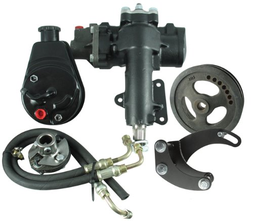 Borgeson 999016 Power Steering Conversion Kit Power Steering Column