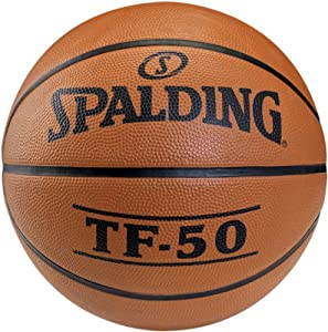 Spalding Basketball TF50 Outdoor 73-850z, Orange, 7, 3001502010017