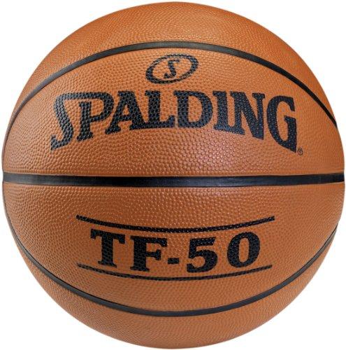 Spalding Basketball TF50 Outdoor 73-850z, Orange, 7, 3001502010017