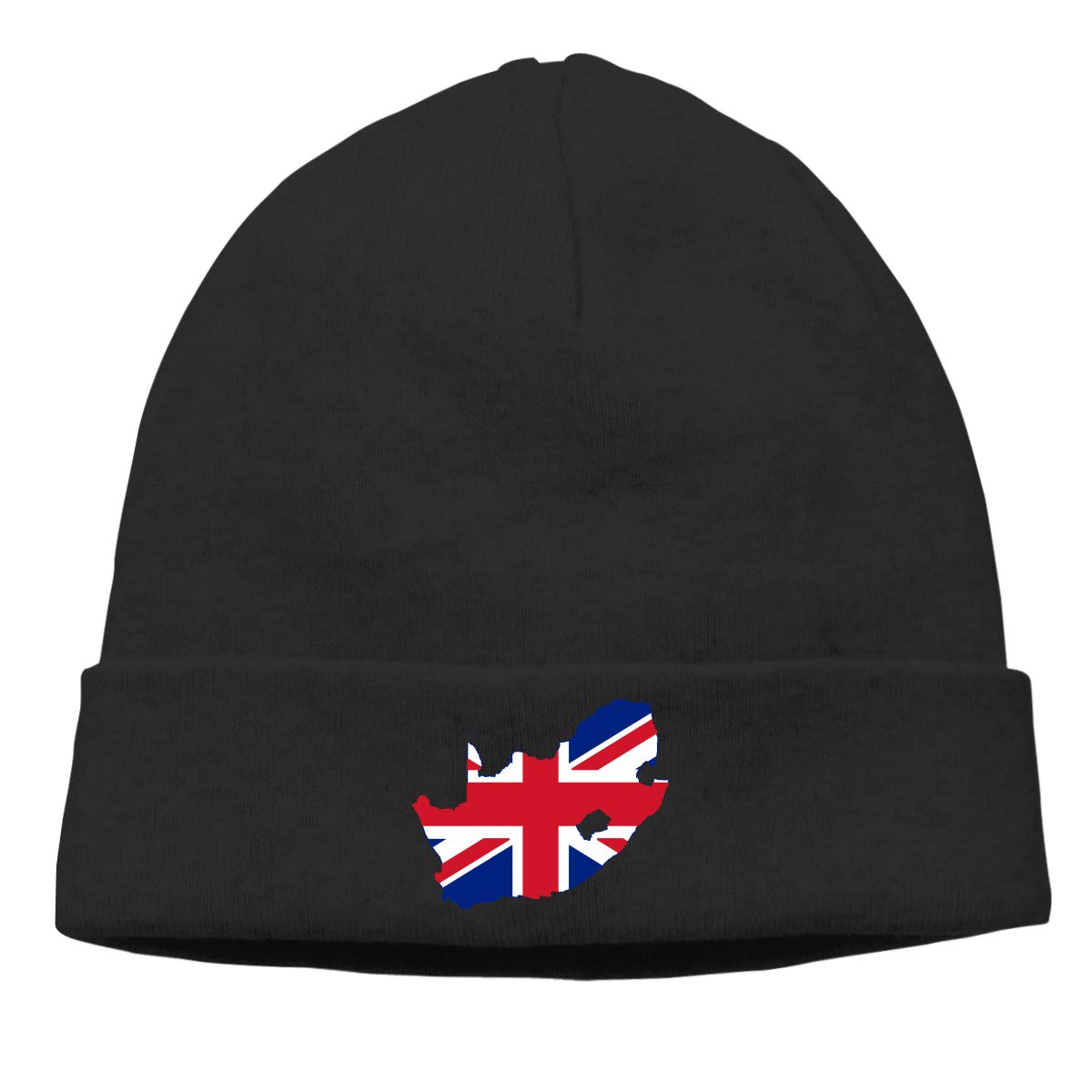 Thin Stretchy /& Soft Winter Cap United Kingdom Flag Map of South Africa Women Men Solid Color Beanie Hat