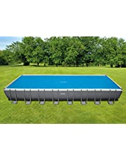 Intex zonnepaneel voor rechthoekige zwembaden.