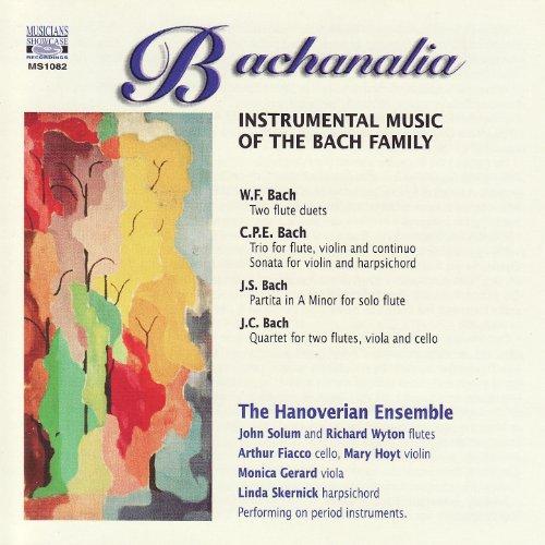 Bachanalia - Instrumental Music of the Bach Family