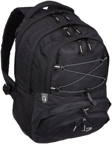 Travelite Black 096286 82755 Casual Daypack Travelite Basics Casual Backpack Black dzqaRywd